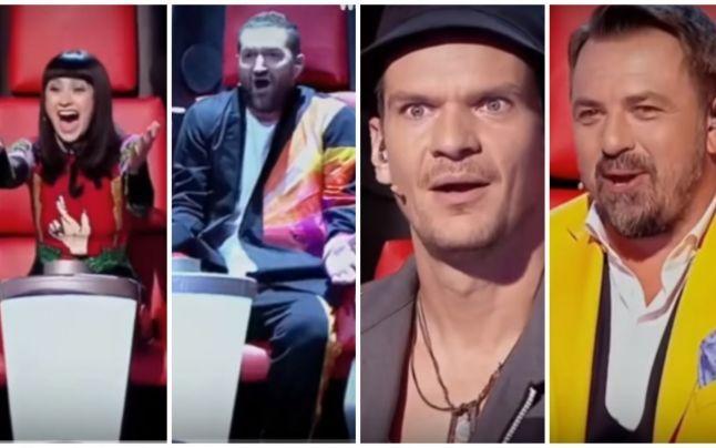 """Ce concurenți au reușit să întoarcă 4 scaune în a doua ediție """"Vocea României""""   PROTVPLUS.RO"""