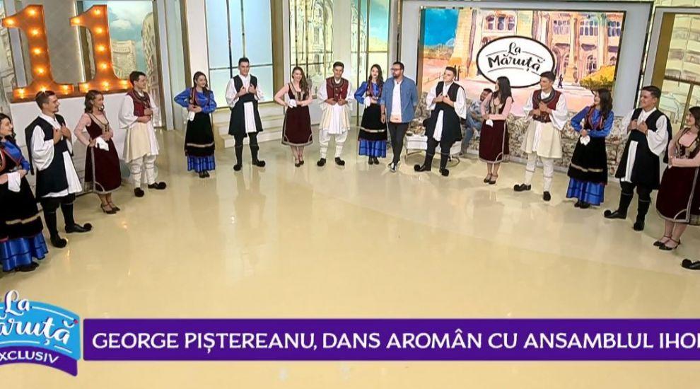 VIDEO Ansamblul Iholu și George Piștereanu au dat startul distracției, în direct, La Măruță