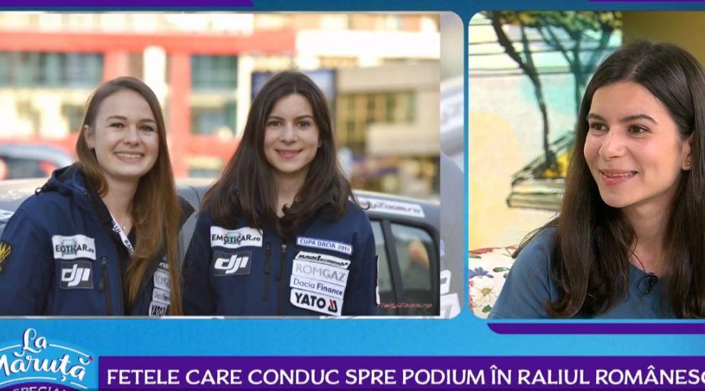 VIDEO Cristiana Oprea și Diana Hațegan, primul echipaj feminin care a reprezentat România în Campionatul European de Raliuri