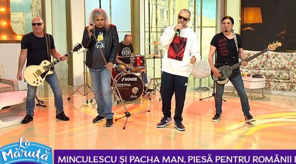 """Cristi Minculescu și Pacha Man au lansat """"Unde inima mea bate"""", o piesă cu un mesaj special pentru românii din Diaspora"""