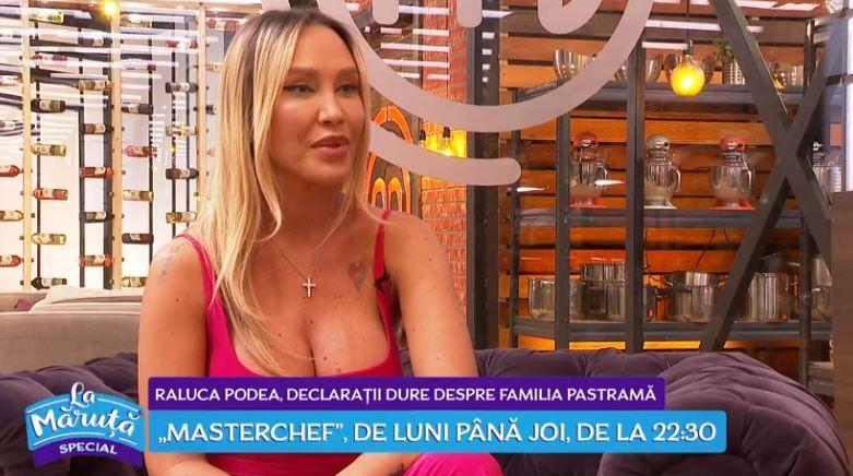 """VIDEO Raluca Podea,despre participarea la Masterchef: """"Gătitul mă ajută să trec peste anul acesta dificil"""""""