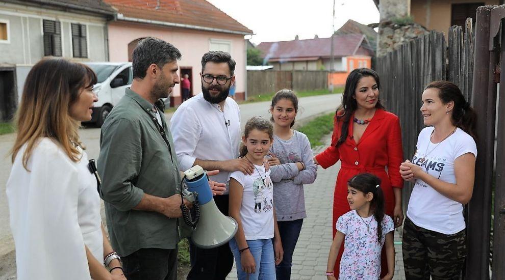 VIDEO Dragoș Bucur a provocat-o, ea a răspuns. Ce-și dorește o mamă pentru copiii ei, la Visuri la cheie