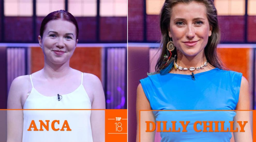 MasterChef 2019 - Anca Petrovici și Dilly Chilly merg mai departe în TOP 18