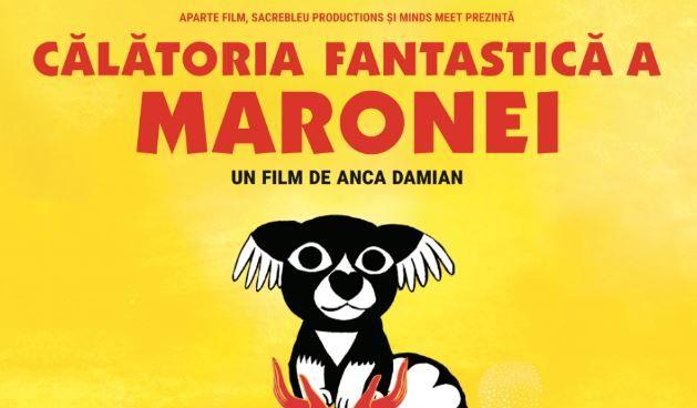 Olimpia Melinte devine Marona în Călătoria fantastică a Maronei, un lungmetraj de animație scris de Anghel Damian