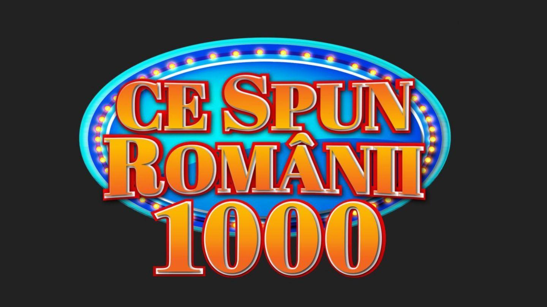 La ediția cu numărul 1.000, Ce spun românii îți dă 10 premii a câte 1.000 de lei! Câștigătorii au fost aleși!