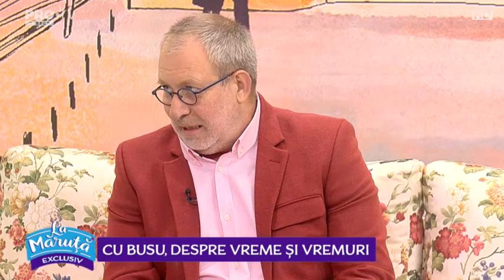 """VIDEO Cu Forin Busuioc, despre vreme și vremuri: """"A fost un episod de scurtă durată"""""""