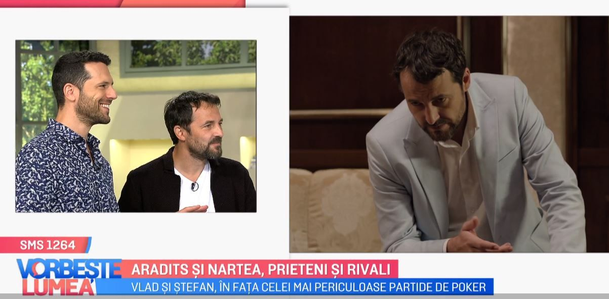 VIDEO Adi Nartea și Andrei Aradits, dezvăluiri din serialul VLAD