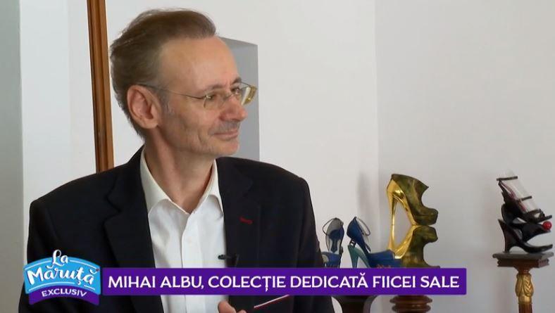 VIDEO Mihai Albu, colecție dedicată fiicei sale
