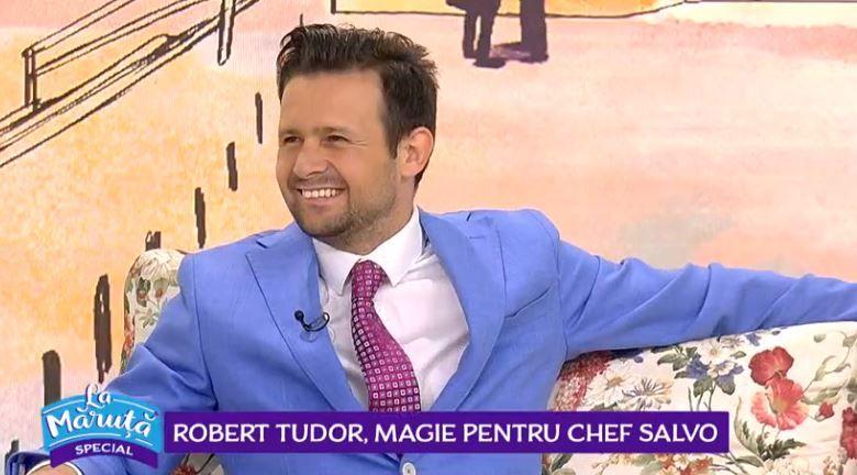 VIDEO Robert Tudor, trucuri de magie la Măruță