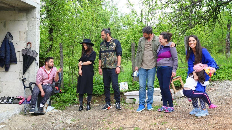 Echipa Visuri la cheie renovează casa unor oameni al căror destin a fost deturnat de o boală cumplită