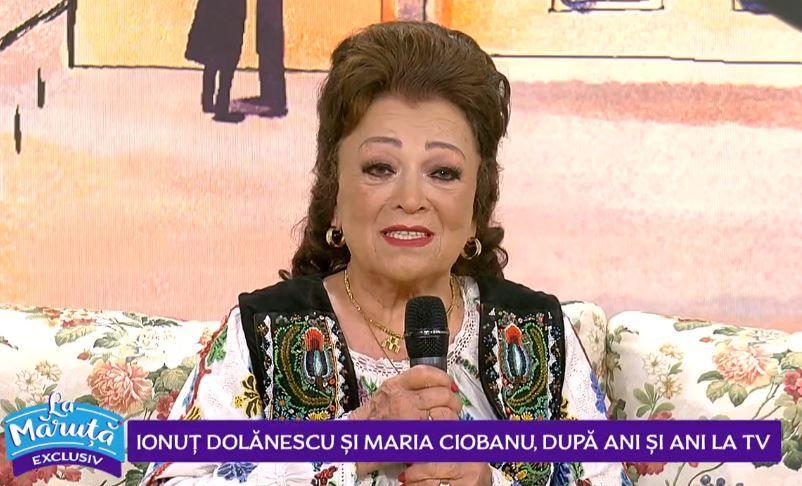 VIDEO Maria Ciobanu, marea doamnă a muzicii populare, revenire spectaculoasă în România. Care este motivul