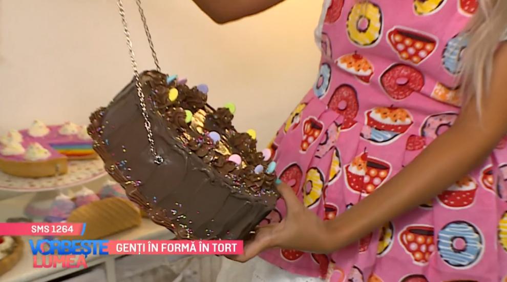 O nouă inovație în materie de fashion a apărut în România. Genți în formă de tort