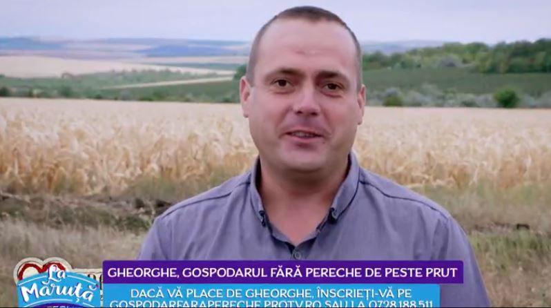 Gheorghe Mațcu își caută perechea. Intră pe gospodarfarapereche.protv.ro și înscrie-te daca vrei să îl cunoști