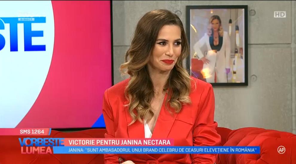 VIDEO Victorie pentru Janina Nectara