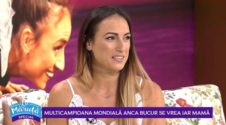 VIDEO Multicampioana mondială Anca Bucur își dorește să fie din nou mamă