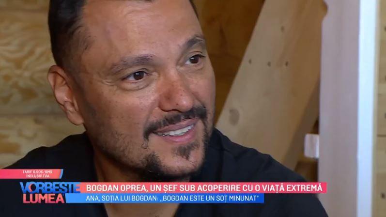 VIDEO Bogdan Oprea, un șef sub acoperire cu o viață extremă
