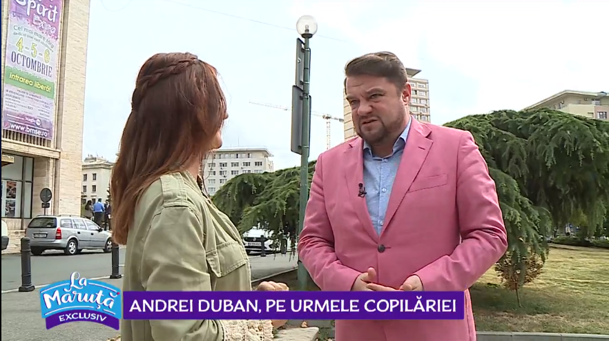 """VIDEO Andrei Duban, pe urmele copilăriei: """"Băieții recitau poezii pentru Elena Ceaușescu"""""""