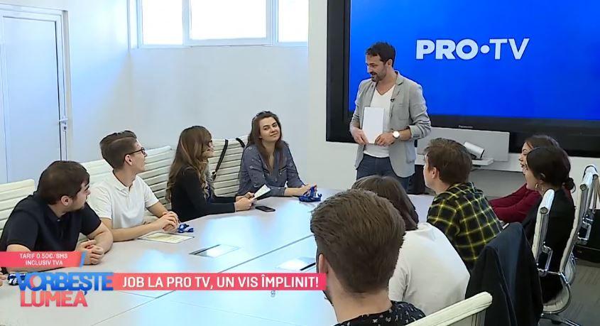 Internship la PRO TV. Ce spun studenții care au fost angajați în urma programului de internship