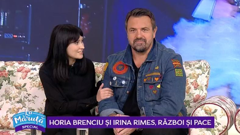 VIDEO Horia Brenciu și Irina Rimes, război și pace