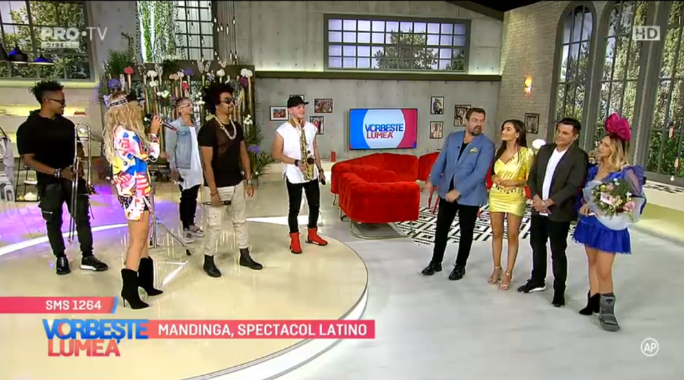 VIDEO Mandinga, spectacol latino
