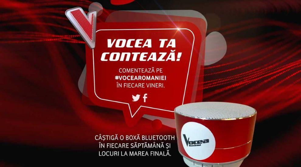 CONCURS Vocea României. Participă și poți câștiga invitații la finala LIVE