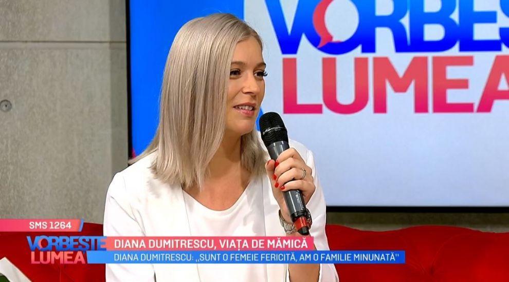 """VIDEO Diana Dumitrescu a devenit mămică: """"Îl iei în brațe și te topești, uiți de tot ce este în jurul tău"""""""