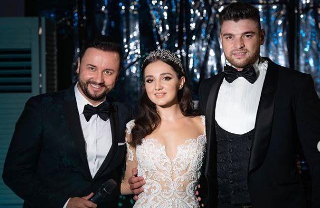 Teodora, fiica cea mare a lui Gigi Becali, s-a căsătorit. Imagini inedite de la nuntă