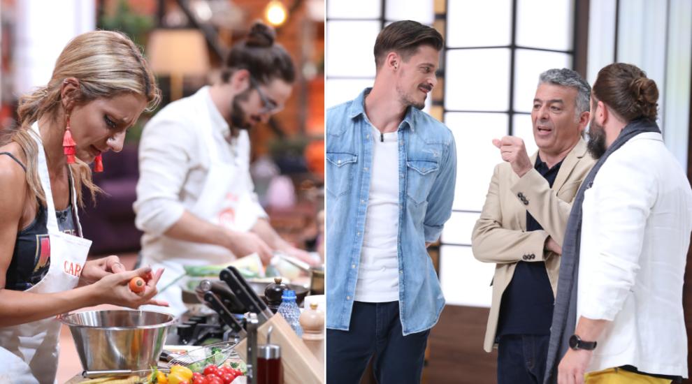 Chef Hadad, chef Silviu Chelaru și Cosmin Tudoran i-au pus la grea încercare pe concurenți. Doar trei i-au convins pe jurați