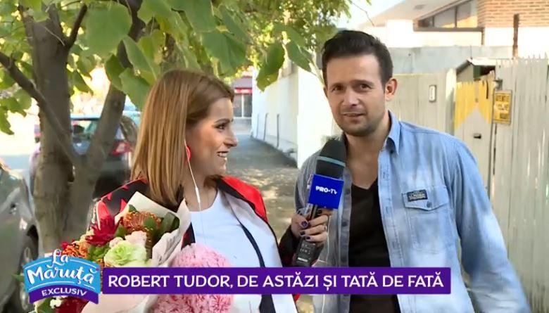 VIDEO Robert Tudor a devenit tată pentru a doua oară
