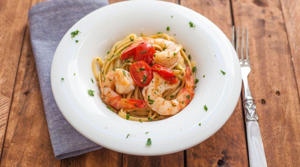 Rețetă MasterChef: Spaghete cu creveți și roșii