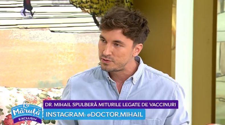 VIDEO Doctor Mihail spulberă miturile legate de vaccinuri
