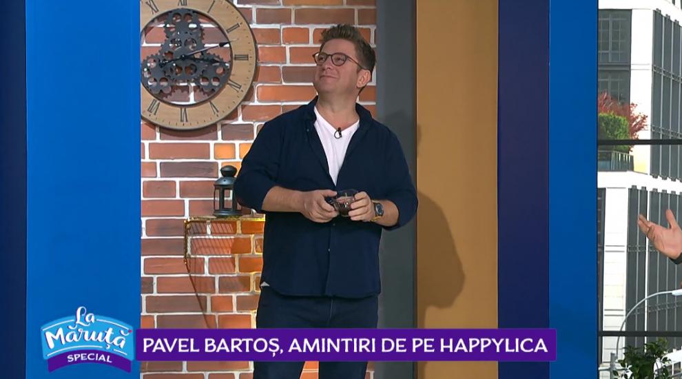 VIDEO Pavel Bartoș, amintiri de pe Happylica