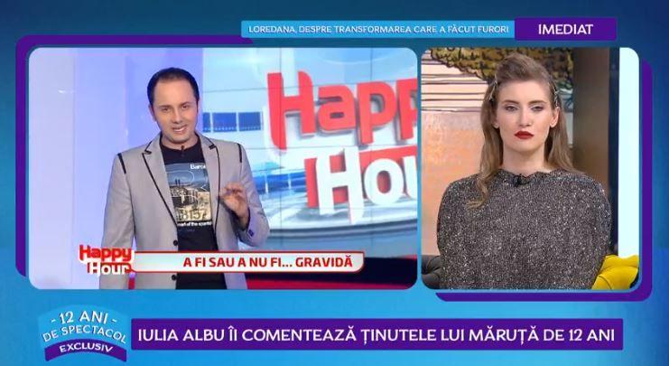 Iulia Albu a analizat ținutele purtate de Cătălin Măruță în cei 12 ani de emisiune