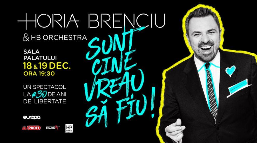 """Horia Brenciu, concert la Sala Palatului în decembrie: """"Sunt cine vreau să fiu!"""""""