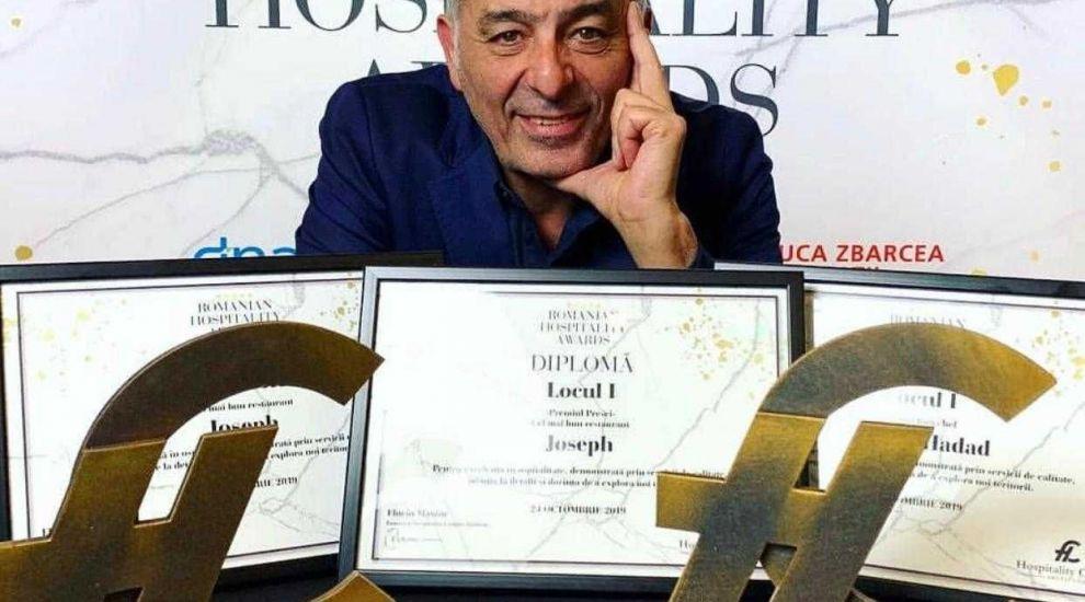 Chef Hadad, desemnat Cel mai bun Chef, pentru al doilea an la rând, în cadrul Galei Romanian Hospitality Awards!