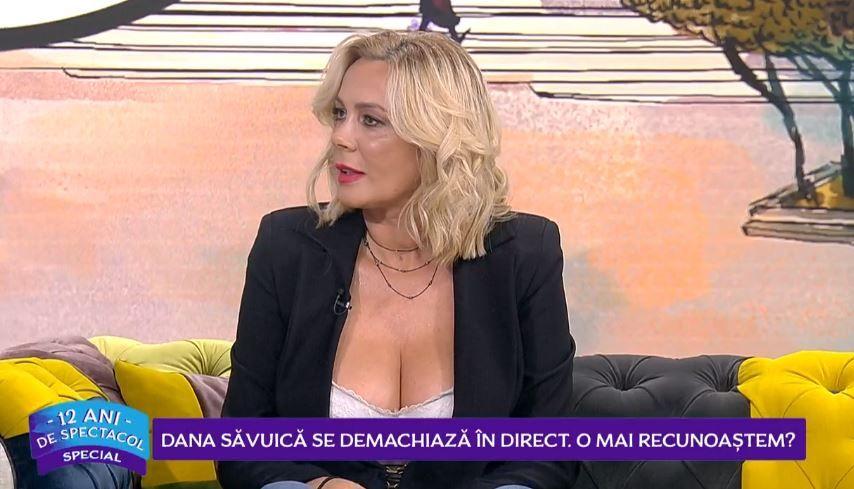 Dana Săvuică, acuzată în mediul online că nu poate fi recunoscută fără machiaj