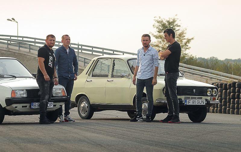Cătălin Moroșanu și Costi Diță se vor întrece pe circuit, la volanul a două autoturisme care au făcut istorie