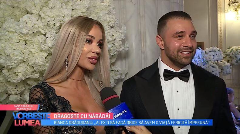 VIDEO Bianca Drăgușanu și Alex Bodi, dragoste cu năbădăi