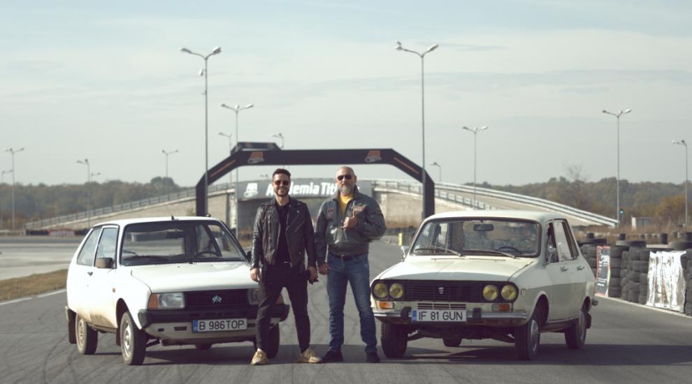 Jorge și Cristi Bozgan încing asfaltul pe circuit. Sâmbătă, de la ora 10:30, în emisiunea SuperSpeed la PRO TV!