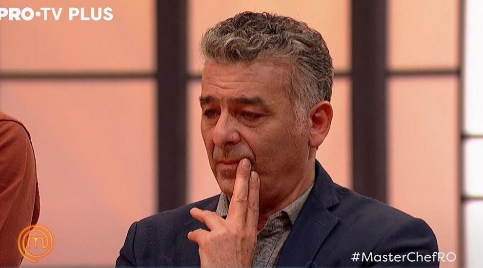 Chef Hadad izbucnește în lacrimi pentru că Jeremy părăsește competiția