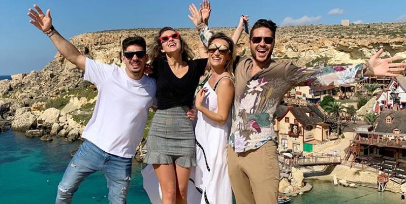 VIDEO Otniela, Jorge, Carmen și Marius, aventură pe meleaguri malteze