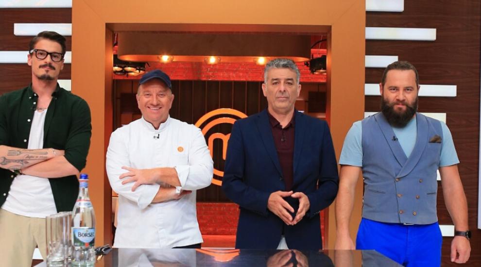 Chef Ettore Botrini, bucătar cu o stea Michelin, le oferă concurenților un Masterclass în bucătărie moleculară