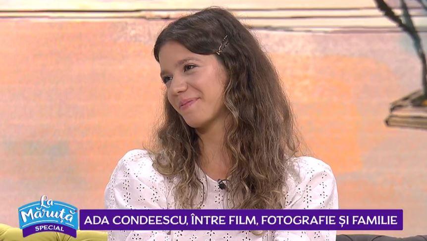 Ada Condeescu, despre noua pasiune. Cum se împarte între actorie, fotografie și familie.