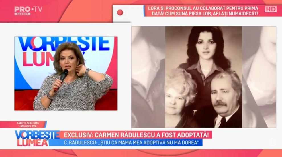 Exclusiv: Carmen Rădulescu a fost adoptată!