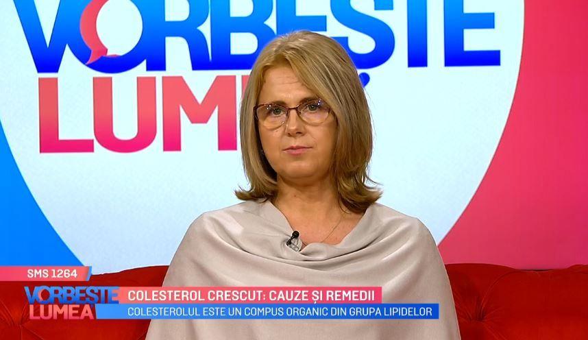 Colesterolul crescut: cauze și remedii. Alina Dumitrașcu, medic primar medicină internă, vine cu explicații