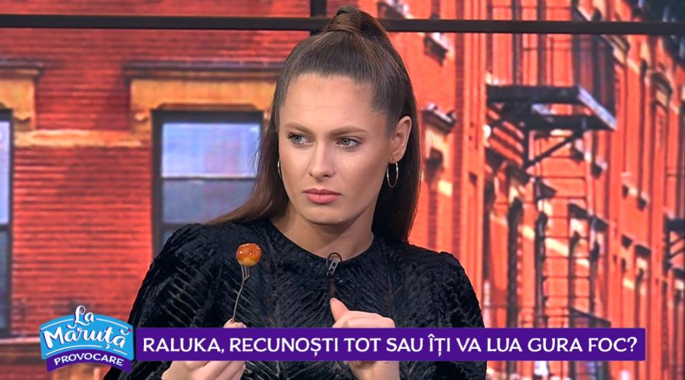 VIDEO Raluka, răspunde la întrebările picante date de Cătălin Măruță