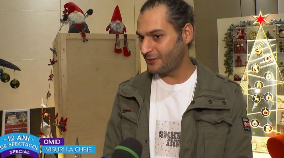 """VIDEO Omid Ghannadi a creat un brad special pentru festivalul """"Brazilor de Crăciun"""" împreună cu Cătălin Măruță"""