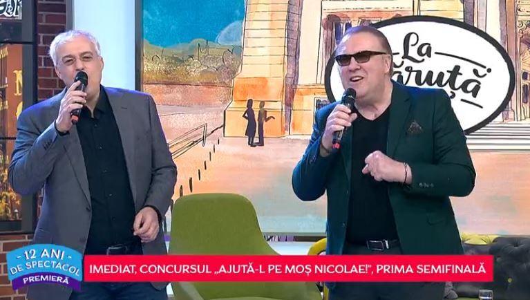 VIDEO Cătălin Crișan și Gabriel Cotabiță, duet de excepție