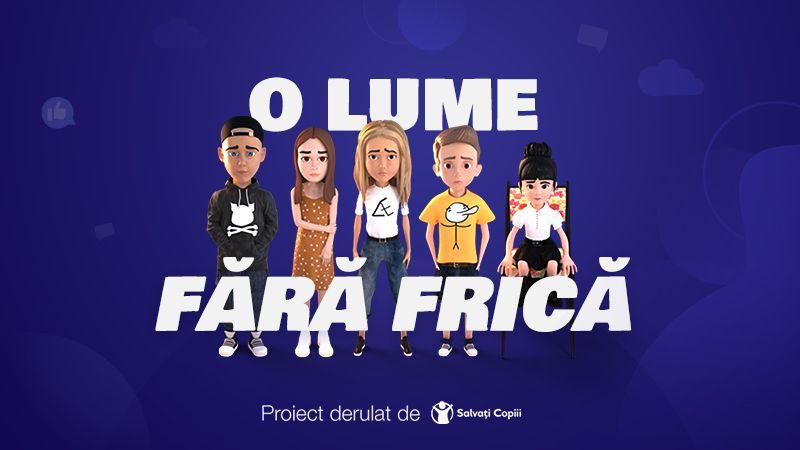 """Irina Rimes, Daragiu Alex alias Alpaca, Alina Eremia, Mimi, Deliric se alătură campaniei """"O lume fără frică"""""""