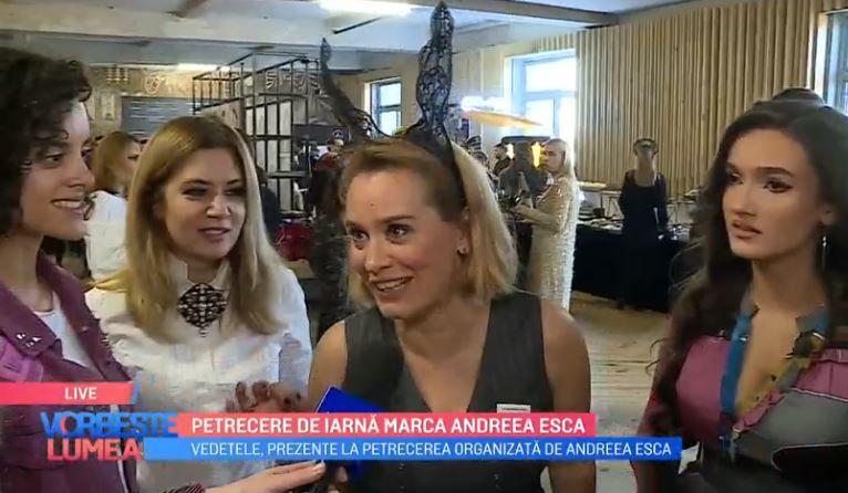 VIDEO Petrecere de iarnă marca Andreea Esca